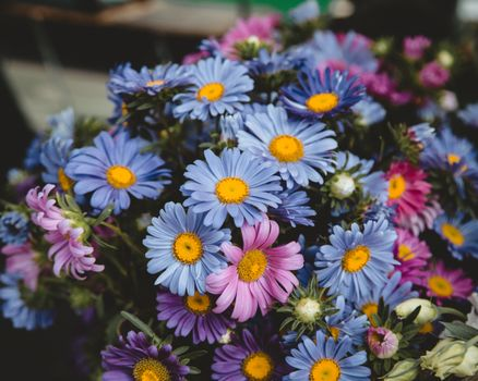 цветы, красочные, букет, flowers, colorful