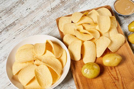 Фото бесплатно еда, чипсы, картофеля
