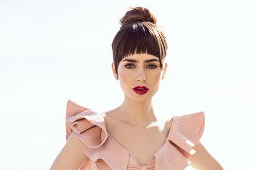 Photo free Lily Collins, girls, сelebrities
