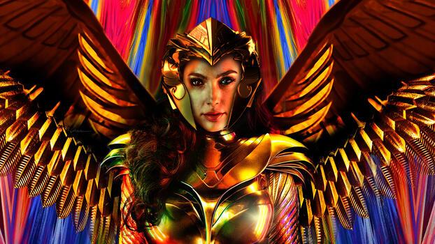 Фото бесплатно Чудо-женщина 1984, Чудо-женщина, супергерои