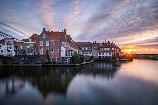 Фото бесплатно города, Нидерланды, утро