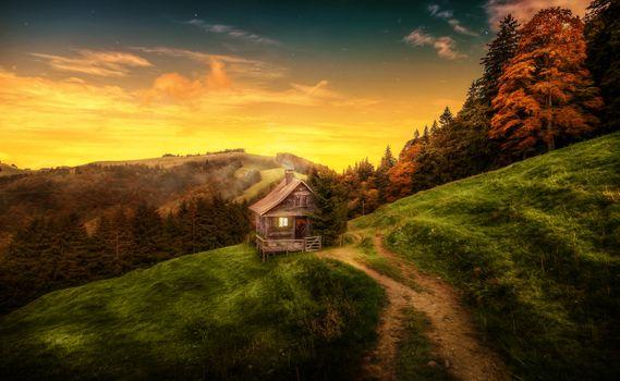 Photo free Landscape, Switzerland, mountains