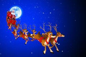 Заставки Рождество, Санта-Клаус, Новогодний стиль