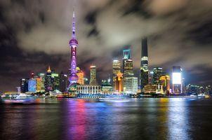 Фото бесплатно Shanghai, Шанхай, Китай