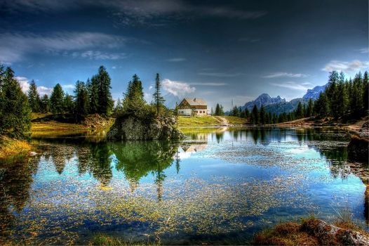 Photo free Federal lake, Dolomites, nature