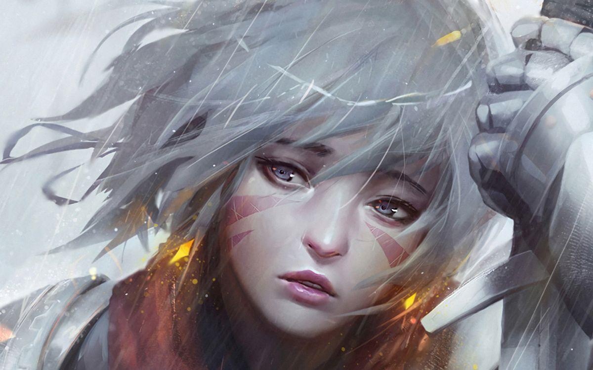 Фото аниме воин художник - бесплатные картинки на Fonwall