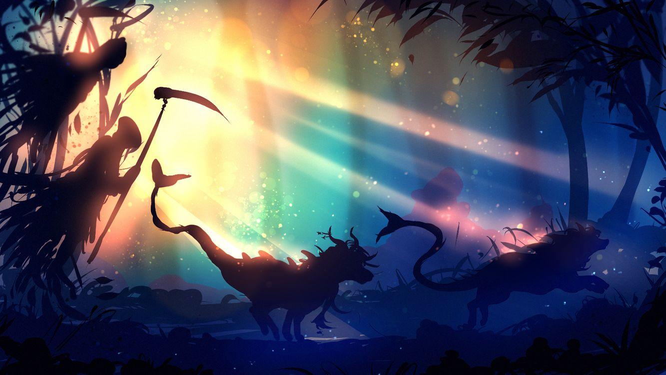 Фото бесплатно Fantasy, лес, Artist - на рабочий стол