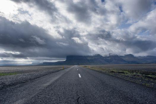 Photo free coast, prairie, road