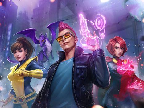 Фото бесплатно Marvel Future Fight, игры, супергерои