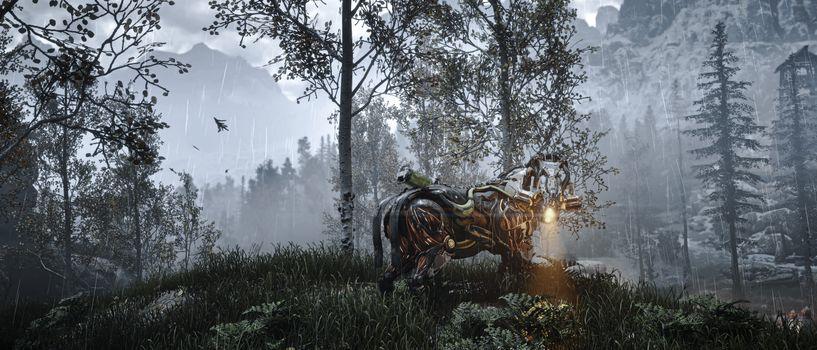 Photo free Xbox games, robot, Horizon Zero Dawn