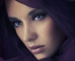 Заставки модель, макияж, Анна Субботина
