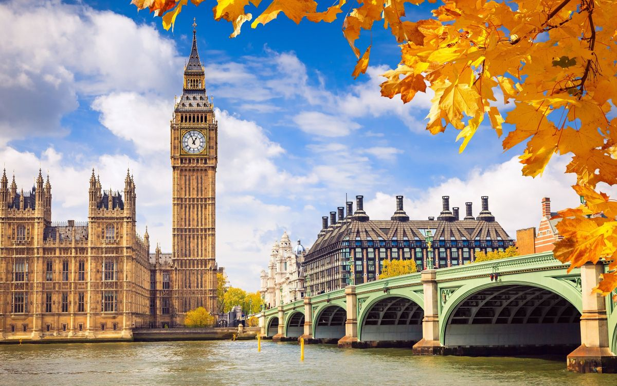 Фото Англия Биг-Бен Лондон - бесплатные картинки на Fonwall