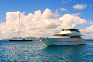 Бесплатные фото море,яхты,облака