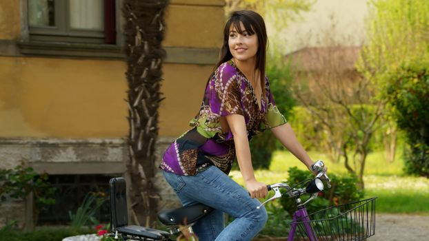 Photo free lorena garcia, Lorena B, bicycle