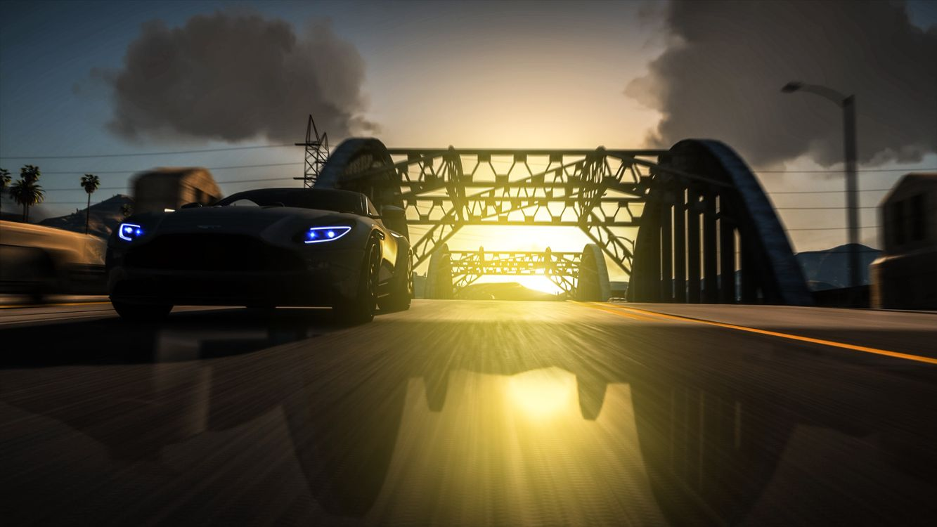 Фото бесплатно Ps Games, Gta 5, Aston Martin - на рабочий стол