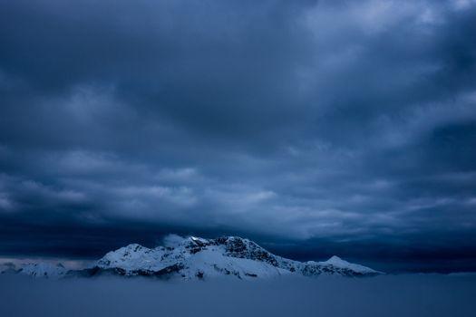 Заставки снег, туман, природа