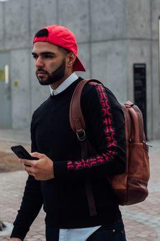 Photo free backpack, men, guy