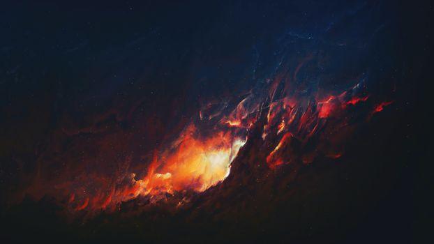 Фото бесплатно Туманность, вселенная, звезды