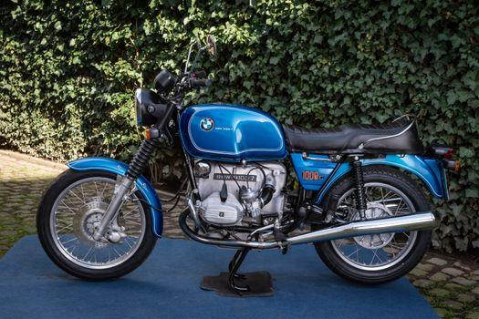 Фото бесплатно мотоцикл, BMW мотоцикл, синий