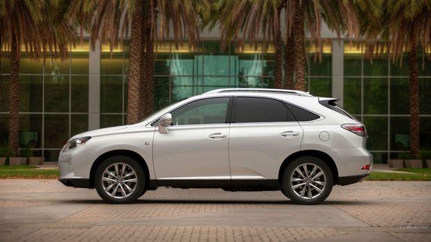 Фото бесплатно автомобиль, lexus, серебряные автомобили