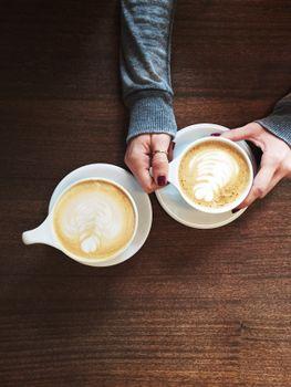 Фото бесплатно горячие, кофеин, пена