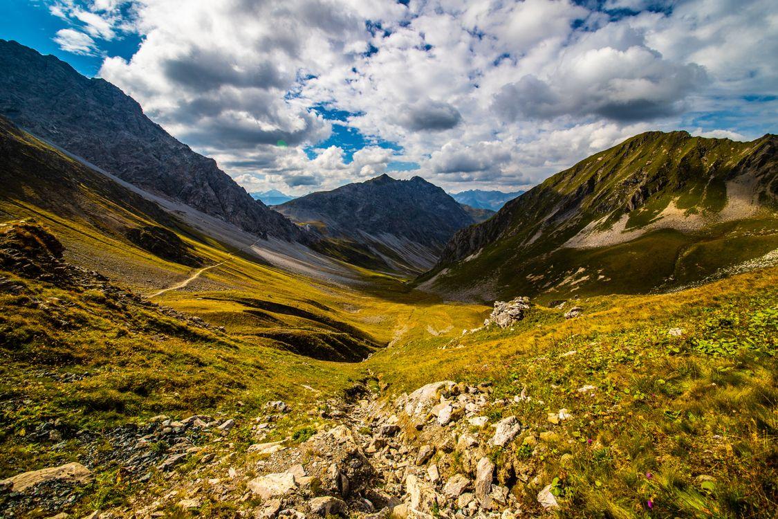 Фото бесплатно природа, альпы, швейцария - на рабочий стол