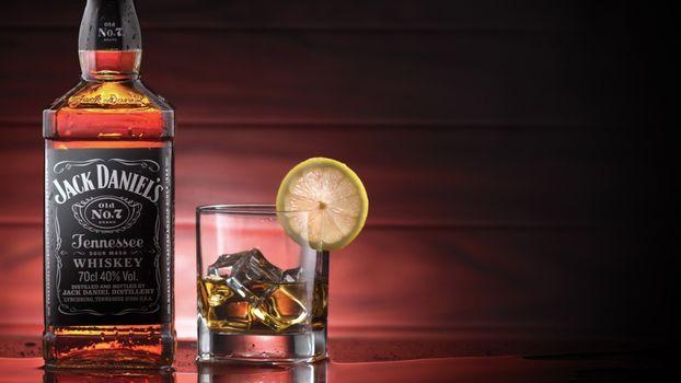Фото бесплатно джек дэниелс, виски, бутылка