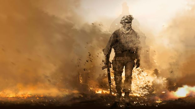 Фото бесплатно Call Of Duty Modern Warfare Remastered, Call Of Duty, игры