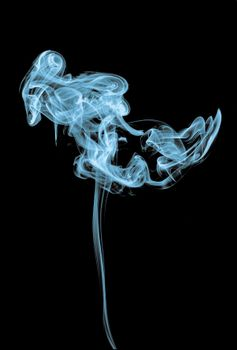 Обои дым,саван,катушка,темный фон,smoke,shroud,coil,dark background