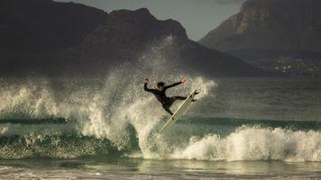 Фото бесплатно спорт, море, серфинг
