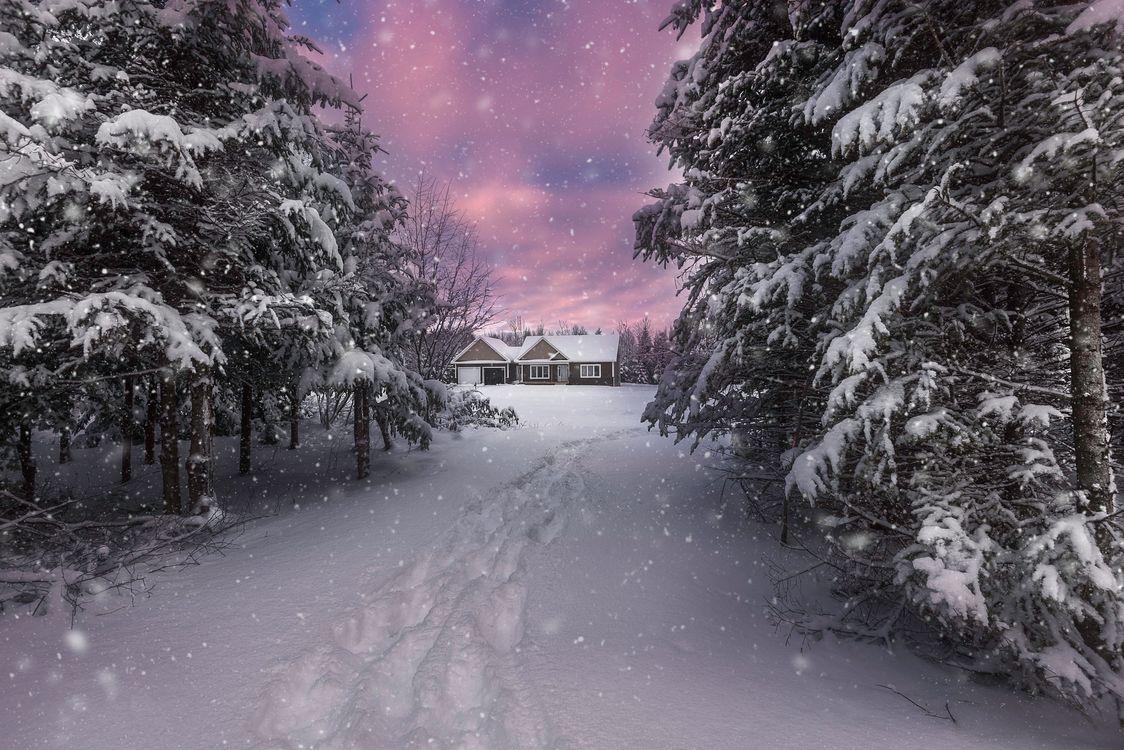 Фото следы пейзаж природа - бесплатные картинки на Fonwall