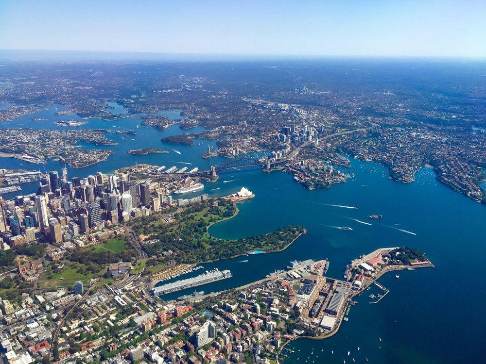 Фото бесплатно Sydney, Australia, Сидней, Австралия, город