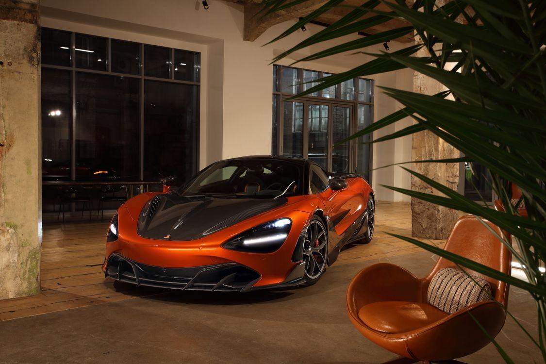 Фото бесплатно автомобили, Mclaren, оранжевый - на рабочий стол