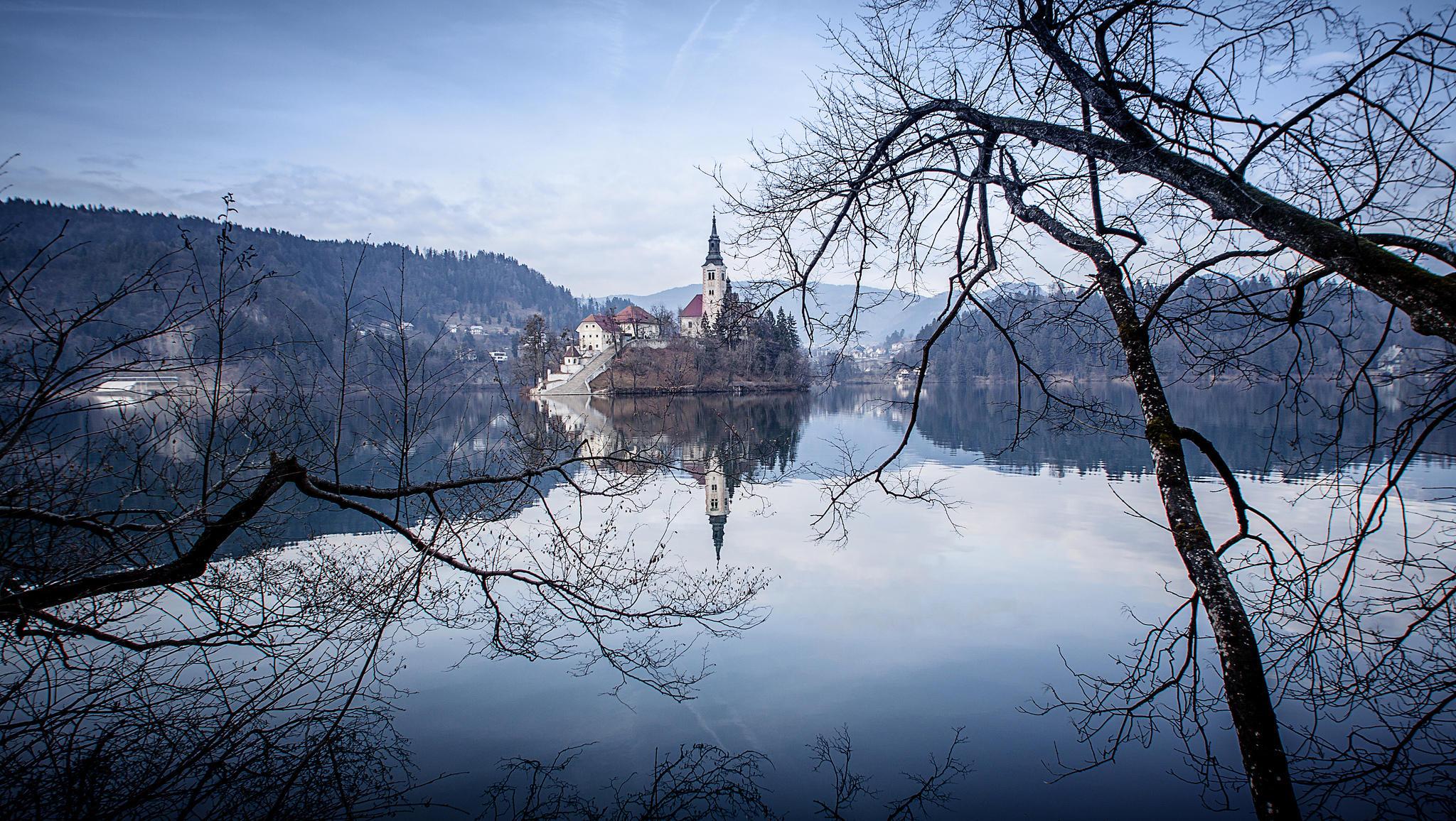 Обои Bled, Bled Lake, Озеро Блед, Остров Блед