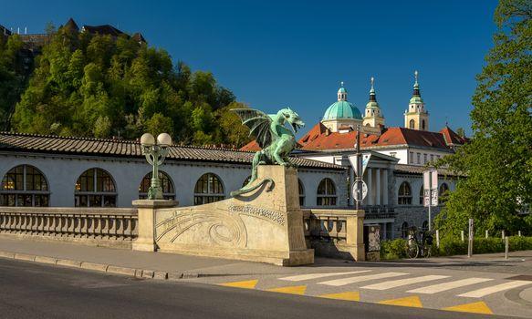 Фото бесплатно города, Словения, мосты