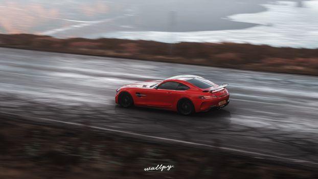 Фото бесплатно Mercedes, игры 2019, Forza