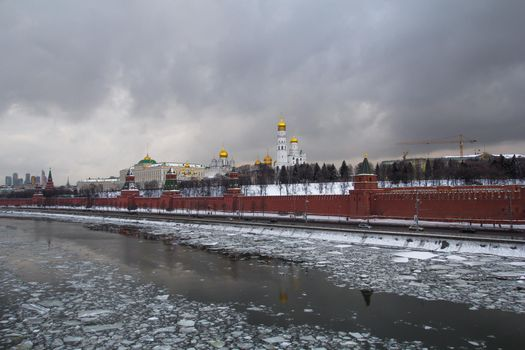 Photo free Moscow-river, Moscow, Russia