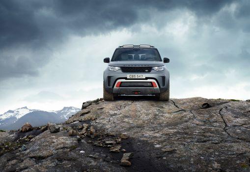 Photo free Land Rover, cars, gray car