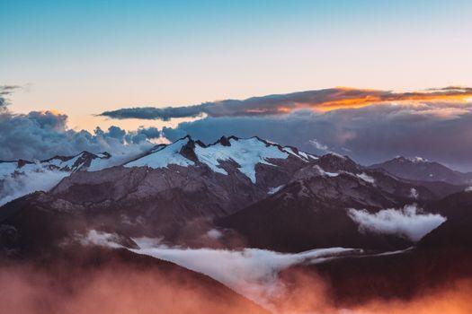 Фото бесплатно горные формы рельефа, долина, холм
