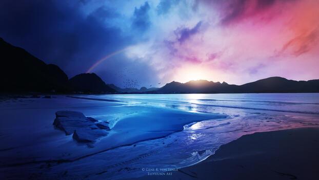 Фото бесплатно природа, пейзаж, художник