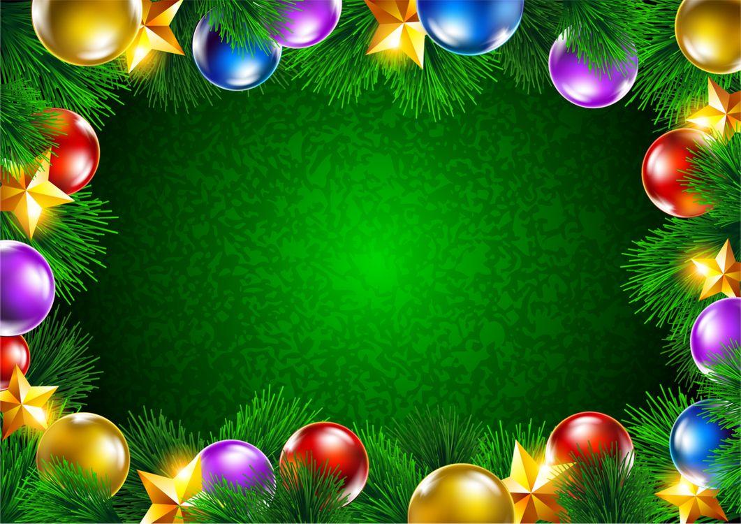 Новогодняя рамка для поздравления · бесплатное фото