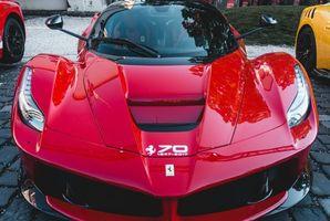 Бесплатные фото авто,спортивный автомобиль,вид спереди,красный,auto,sports car,front view