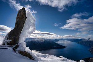 Фото бесплатно природа, Норвегия, фьорд