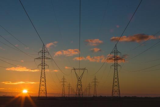 Фото бесплатно силуэт, небо, восход солнца