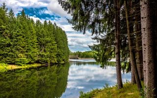 Бесплатные фото Марилла,водохранилище,Брэдфорд,штат Пенсильвания,США