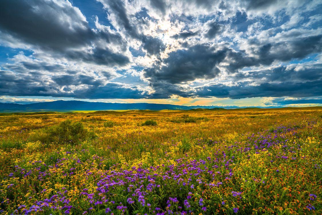 Фото пейзаж сша пейзажи небесные облака - бесплатные картинки на Fonwall