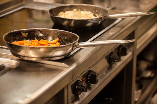 Фото бесплатно кухня, сковорода, готовить