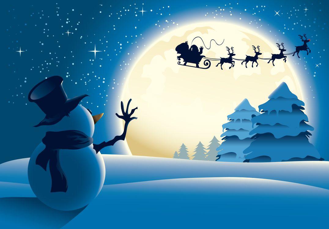 Обои снеговик, Новый год с стиль, Рождество картинки на телефон