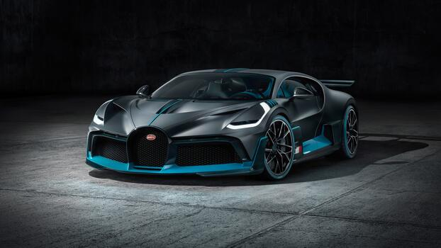 Photo free view from front, wallpaper bugatti divo 2019, cars