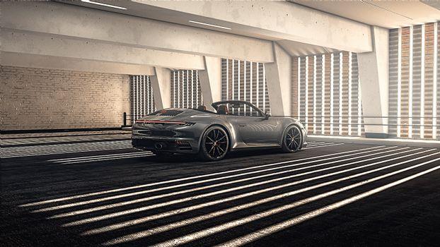 Photo free Porsche, convertible, gray